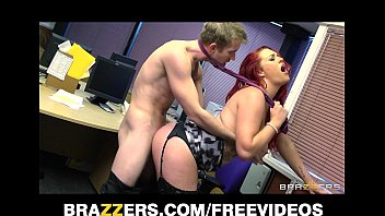 7 Min Redhead Paige Delight Is A Horny Secretary And She Wants Danny D's Huge Dick
