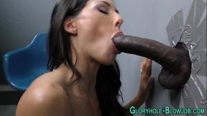 Horny Babe Sucks And Takes A BBC Like She Never Seen A Cock For Years