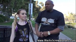 Tiny Alexia Gold Likes Dealing With Big Black Cocks