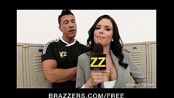 7 Min Hot Brunette Veronica Avluv Gets Gangbang During Interview