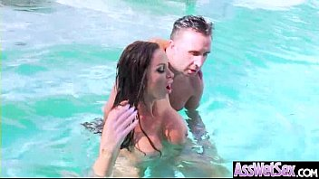 Filling My Hot Wife's Warm Pussy In The Pool NikkiBenz