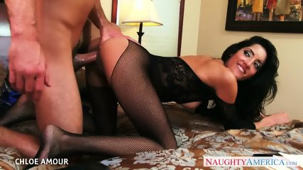 Gorgeous Chloe Amour Enjoys Sloppy Oral Before Riding Hard Dick